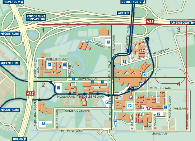 campus map