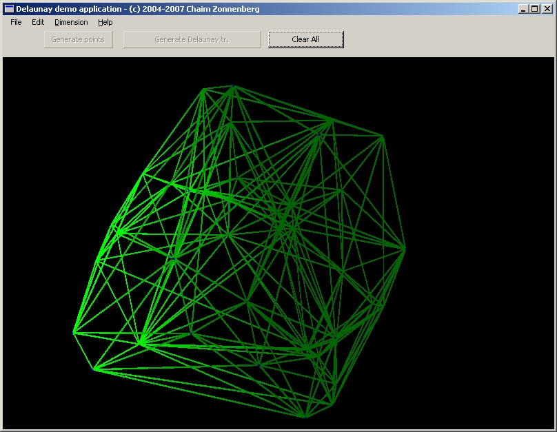 Conformal geometric algebra package 3d application